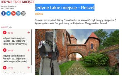 Jedyne takie miejsce – Reszel – Polskie Radio